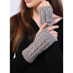 Couleur unie/Crochet mode/Confortable Gants