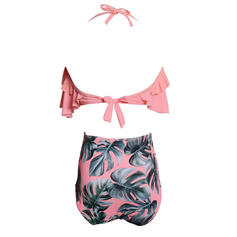 High Waist String Halter Cute Bikinis Swimsuits