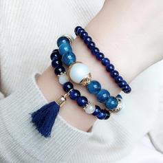 Stijlvol Legering Resin met Kwasten Vrouwen Fashion Armbanden (Verkocht in één stuk)