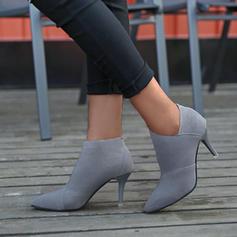 Femmes PU Talon stiletto Bottines avec Autres chaussures