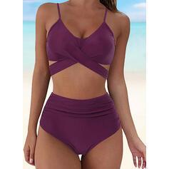 Bottom V-Neck Sexy Bikinis Swimsuits