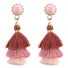 Unique Alloy Women's Fashion Earrings (Set of 2)
