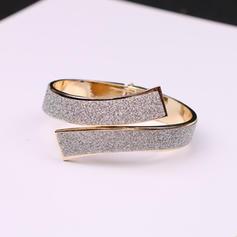 Exquis Alliage Résine Dames Bracelets de mode