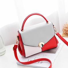 Charming/Attractive/Splice Color Tote Bags/Crossbody Bags