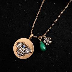Unique Alloy With Rhinestone Women's Necklaces