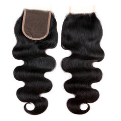 "4""*4"" 4A Body Human Hair Closure (Sold in a single piece)"