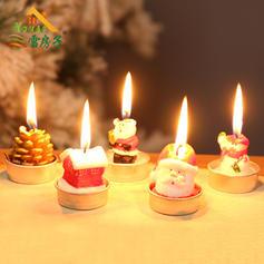 Weihnachten Kerzen Wachs Weihnachtsdekoration