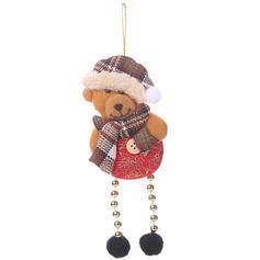 Snowman Reindeer Santa Christmas Hanging Long Leg Cloth Tree Hanging Ornaments