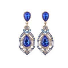 Gorgeous Alloy Rhinestones With Rhinestone Ladies' Earrings