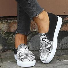 Vrouwen PU Casual Outdoor met Dier Afdrukken schoenen