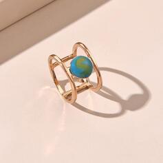 Beautiful Alloy Rings