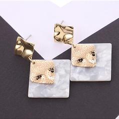 Fashionable Alloy Acrylic Women's Fashion Earrings