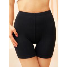 Solid Pantolonlar Şort Tayt