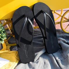 Frauen EVA Flascher Absatz Sandalen Flache Schuhe Peep Toe Flip Flops Pantoffel mit Hohl-out Schuhe