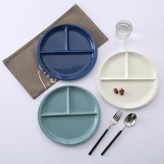 Simple Porcelain Serving Dishes & Platters