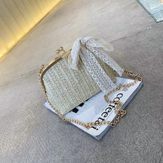 Fashionable Rattan Clutches/Shoulder Bags