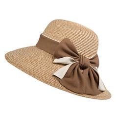 Dames Simple/Gentil/Fantaisie Polyester avec Bowknot Chapeaux de plage / soleil