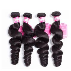 4A Volný Lidský vlas Vlnité pravé vlasy (Prodává se jako jeden kus) 50g