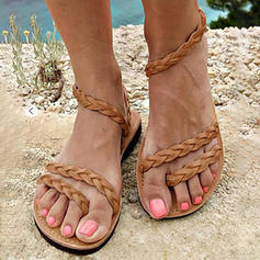 Pentru Femei PU Fară Toc Sandale Balerini cu Altele pantofi