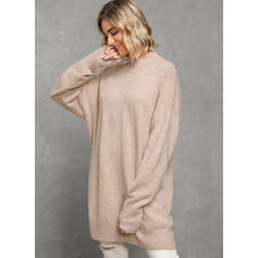Solide Coltrui Casual Los Sweaterjurk
