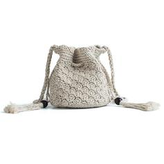 Attractive Cotton Crossbody Bags/Bucket Bags