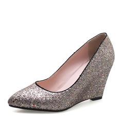 Femmes Pailletes scintillantes Talon compensé Compensée avec Autres chaussures