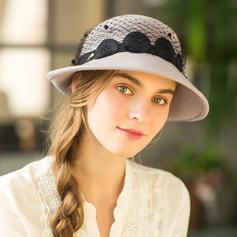 Ladies' Glamourous/Unique Wool Floppy Hats