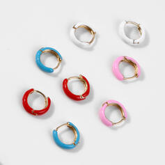 Charming Hottest Alloy With Resin Earrings