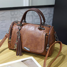 Elegant Second Cowhide Crossbody Bags/Shoulder Bags/Boston Bags