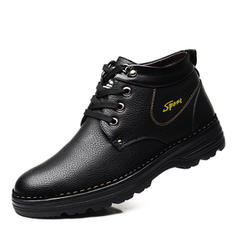 Casual Leatherette Men's Men's Boots