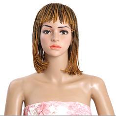 Tout droit cheveux synthétiques Tresses de cheveux (Vendu en une seule pièce) 130g