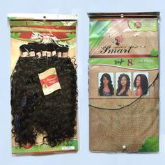 Kręcone Włosy syntetyczne Ludzkie włosy splot 8szt 300g