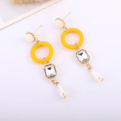 Simple Wood Acrylic Women's Fashion Earrings