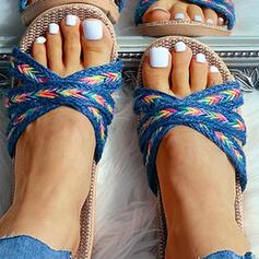 Γυναίκες Επίπεδη φτέρνα Σανδάλια Παντούφλες Με Οι υπολοιποι παπούτσια
