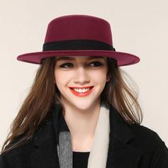 Ladies ' Moda/Elegancki Akryl/Tkanina welniana Bowler / Cloche Hat