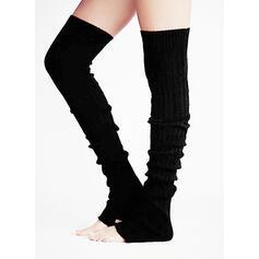 Colore solido Caldo/traspirante/Confortevole/Da donna/Calza altezza ginocchio Calzini/calze autoreggenti