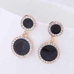 Stylish Alloy Rhinestones Women's Earrings