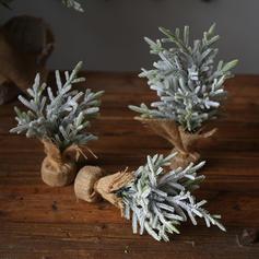 Merry Christmas Tabletop Plastic Diy Craft Christmas Tree