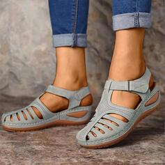 Pentru Femei PU Platforme Înalte Sandale cu Scai pantofi