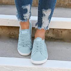 De mujer Juan Tacón plano Planos con Cordones zapatos