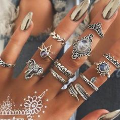 Cea mai tare Extravagant Aliaj Seturi de bijuterii Inele (Set of 12 pairs)