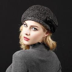 Dames Élégante Polyester/Acrylique Béret Chapeau