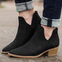 Vrouwen PU Low Heel Laarzen met Anderen schoenen