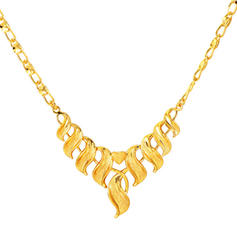 Chic Alloy With Gold Plated Women's Necklaces