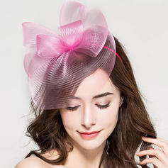 Ladies' Glamourous/Simple/Handmade/Eye-catching Net Yarn With Tulle Fascinators
