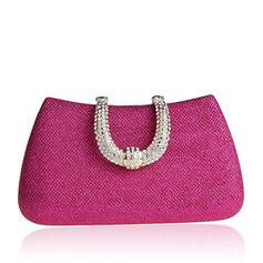 Elegant/Solid Color/Luxury Satin Clutches/Bridal Purse/Wallets & Wristlets
