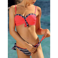 Dot Push Up Strap Sexy Cute Bikinis Swimsuits