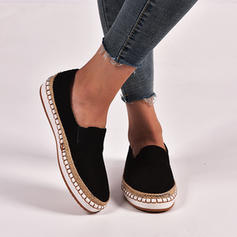 Women's Suede Flat Heel Flats shoes