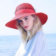 Signore Gorgeous/Moda Rafia paglia Cappello di paglia/Beach / Sun Cappelli