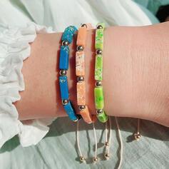 Le plus chaud Fantaisie Alliage Imitation turquoise Bracelets